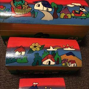 Nestling Box set
